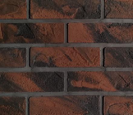 Кирпич  гибкий на сетке FB102BM4 «Умбра жжёная»