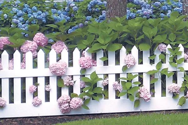 Штакетный забор «GARDEN»