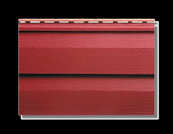 Сайдинг коллекция KANADA+ Премиум красный