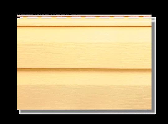 Сайдинг коллекция KANADA+ Престиж жёлтый