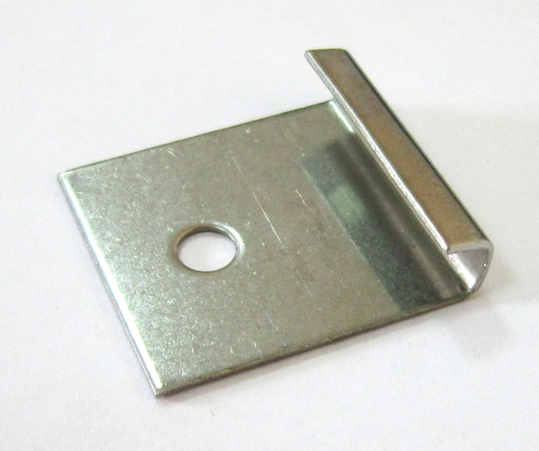 Кліпса металева стартова 32х30 мм Н=6мм