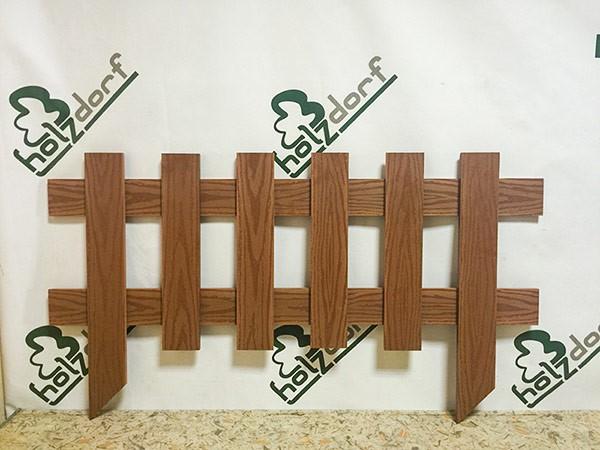 Декоративные мини-заборчики Holzdorf
