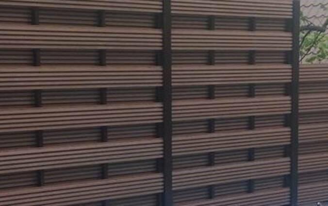 Забор из декоративной планки ТМ Tardex