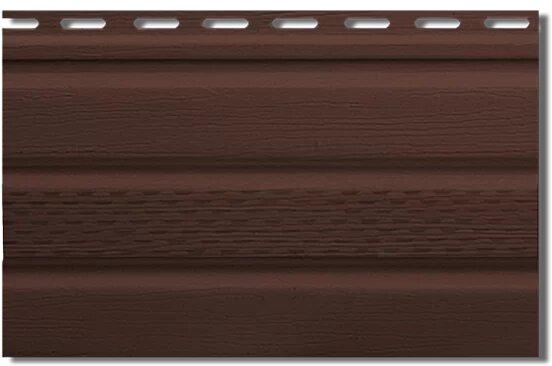 Карнизна підшивка софіт коричневий