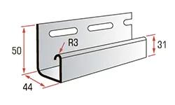 J-trim для сайдинга блокхаус