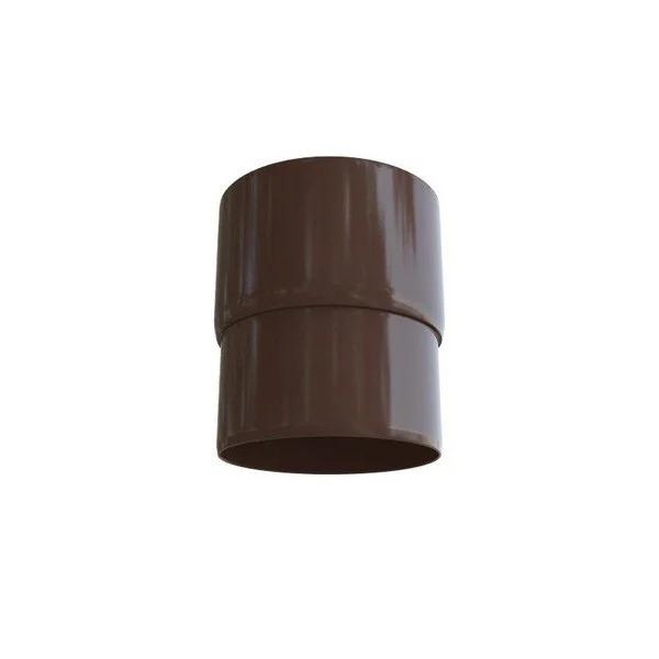 Муфта трубы «Элит» d95мм коричневая, графитовая