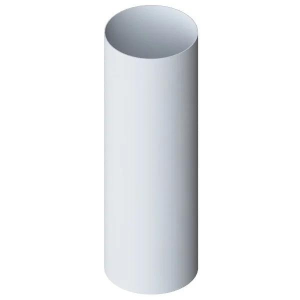 Труба водосточная «Элит» белая d95мм 3м