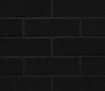 Кирпич гибкий на сетке FB06.56BM3 «Глубокий чёрный»