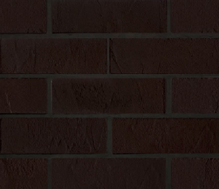 Кирпич гибкий на сетке FB010BM3 «Чёрный шоколад»