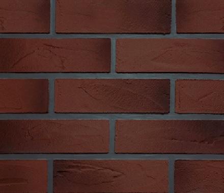 Кирпич гибкий на сетке FВ016TBM3 «Красный кирпич с подпалом»