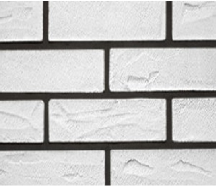 Кирпич гибкий на сетке FB02BM3 «Белый»
