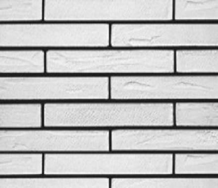 Кирпич гибкий на сетке FCR02BM3(лонг формат) «Белый»