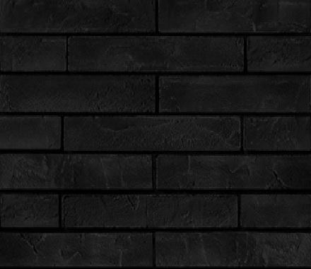 Кирпич гибкий на сетке FCR06.5GBM3 (лонг формат) «Глубокий чёрный»