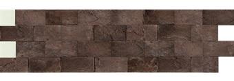 Камень гибкий на сетке FSS08TGBM4 (бесшовный, короткий формат) «Гаванские сигары»