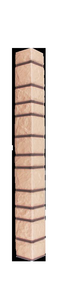 Наружный угол «Доломит» прокрашенный