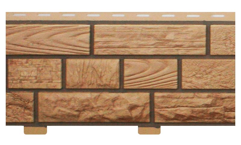 Стеновой сайдинг «Неолит» кремневый